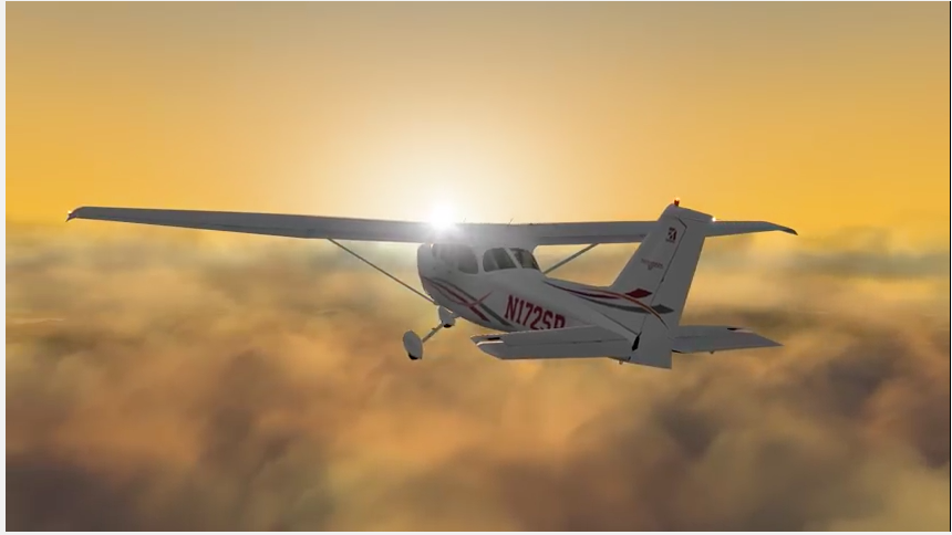 Cessna 172 Xplane 10 simulator apple