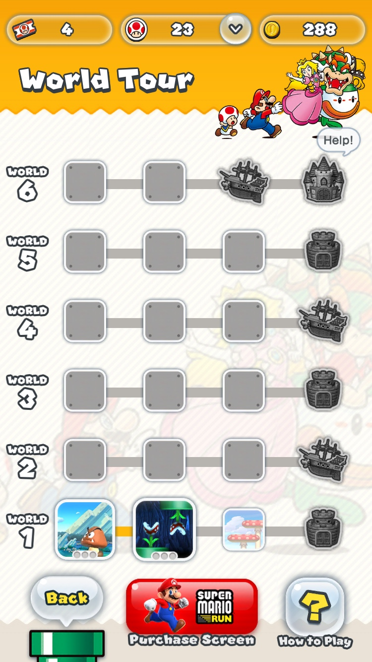 iphone mario run menu hry appleportal