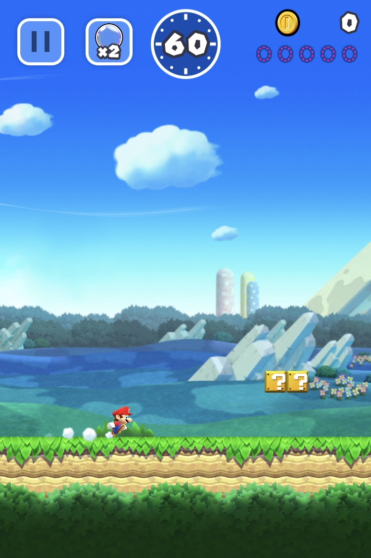 super mario test hry appleportal