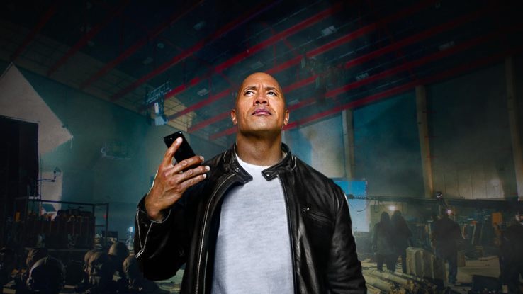 apple vtipna reklama the rock siri iphone